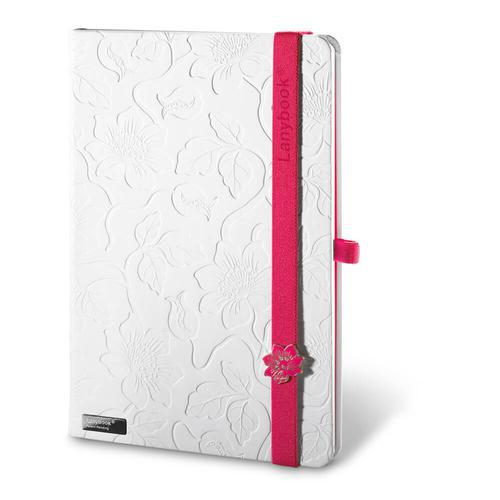 LANYBOOK INNOCENT PASSION WHITE. Bloc de notas